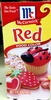 Red food color - Product