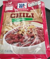 Chili seasoning mix - Product - en