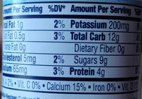 Kids 6 pk yogurt - Nutrition facts - fr