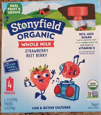 Organic Whole Milk Yogurt, Strawberry-Beet-Berry - Product