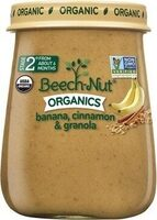 Beech nut organics banana, cinnamon & granola - Product - en