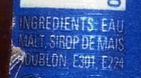 America's best - Ingredients - fr