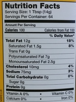 Real Mayonnaise - Nutrition facts