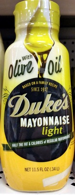 Light mayonnaise, light - Produit - en