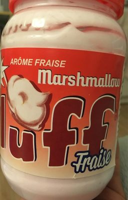 Marshmallow fluff fraise - Product