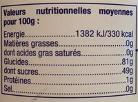 Artificial Strawberry Flavour Marshmallow - Nutrition facts - fr