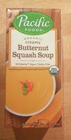 Organic creamy butternut squash soup, creamy butternut squash - Product - en