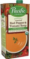 Organic creamy roasted red pepper tomato soup - Produit - en
