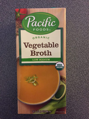 Organic low sodium vegetable broth - Product - en