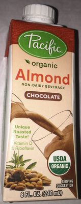 Organic Chocolate Almond Non-Dairy Beverage - Product