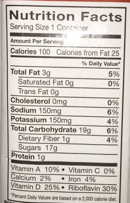 Organic almond - Nutrition facts - en