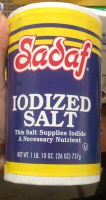Iodized salt - Product - en