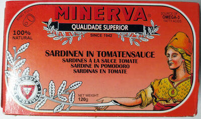 Minerva Sardines in Tomato Sauce - نتاج - en