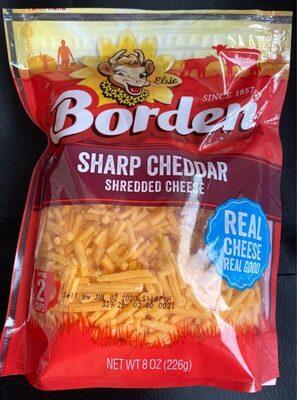 Sharp Cheddar Shredded Cheese - Product - en