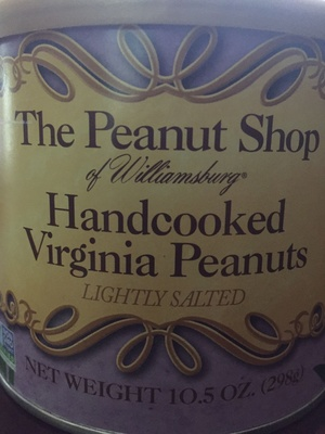 Hand cooked Virginia Peanuts - Product - en