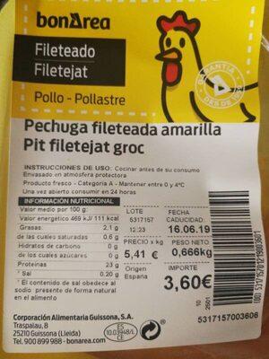 Pechuga - Prodotto - es
