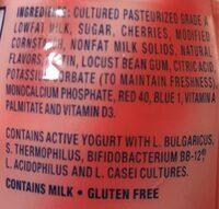 La Yogurt - Ingredients - en