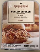 Pulled chicken in BBQ sauce - Product - en