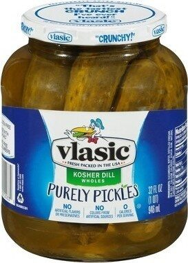 Kosher Dill Wholes Purely Pickles - Product - en