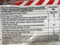 Rocky Mountain Marshmallows Fruity - 营养成分 - fr