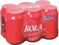 Kola Champion Solo Pack X 6 - Product - fr
