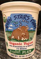 Organic yogurt low fat plain - Product - en