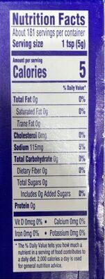 Dijon mustard - Nutrition facts - en