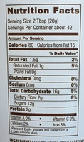 College Ruled Notebook - Nutrition facts - en