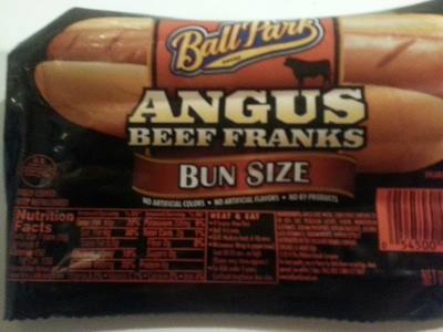 Angus beef franks - Product