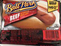 Uncured beef franks - Product - en