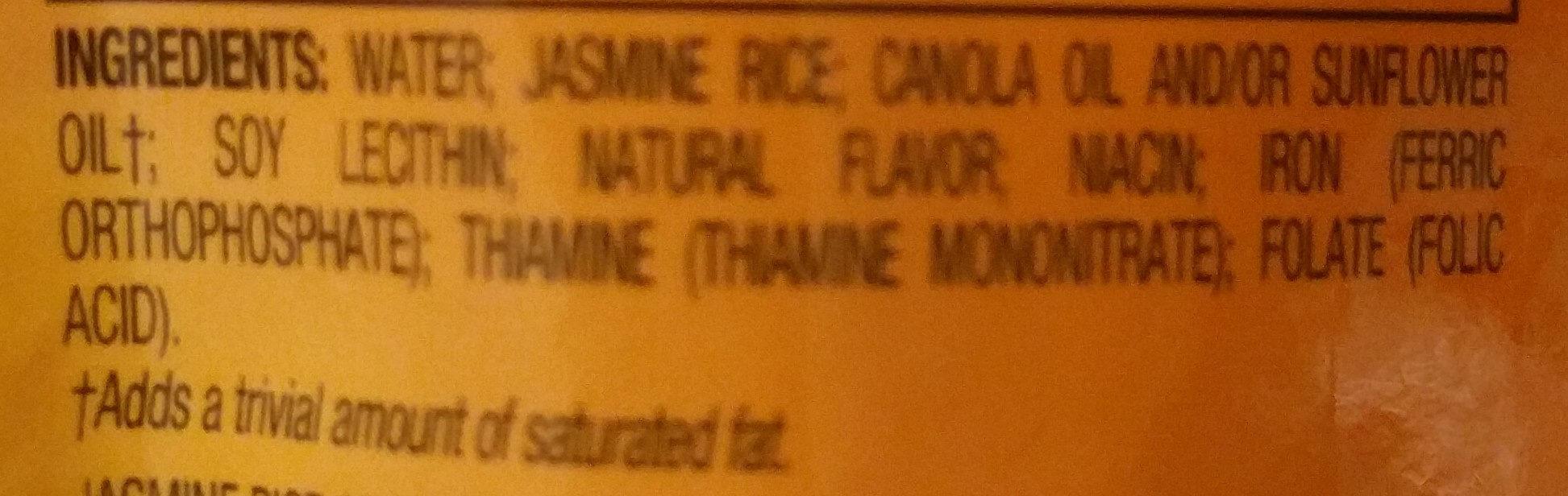 Jasmine rice - Ingredients - en