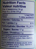 Nestea - Informations nutritionnelles - fr