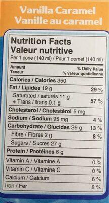 Drumstick - Informations nutritionnelles - fr