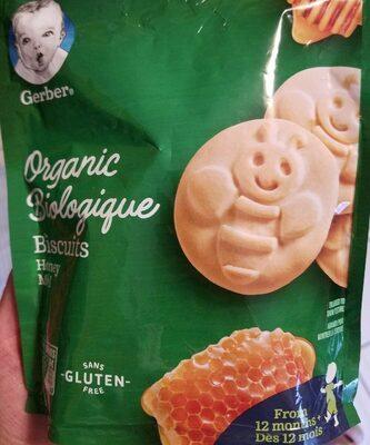 Biscuits miel - Produit - fr