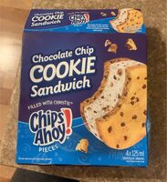 Chocolate chip cookie sandwich - Product - en