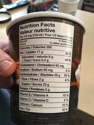Exträas - Informations nutritionnelles - fr