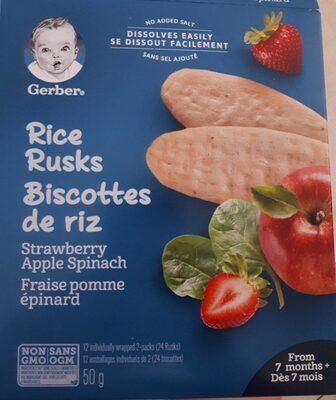 Biscotte de riz - Produit - fr