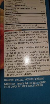 Biscotte de riz - Ingrédients - fr