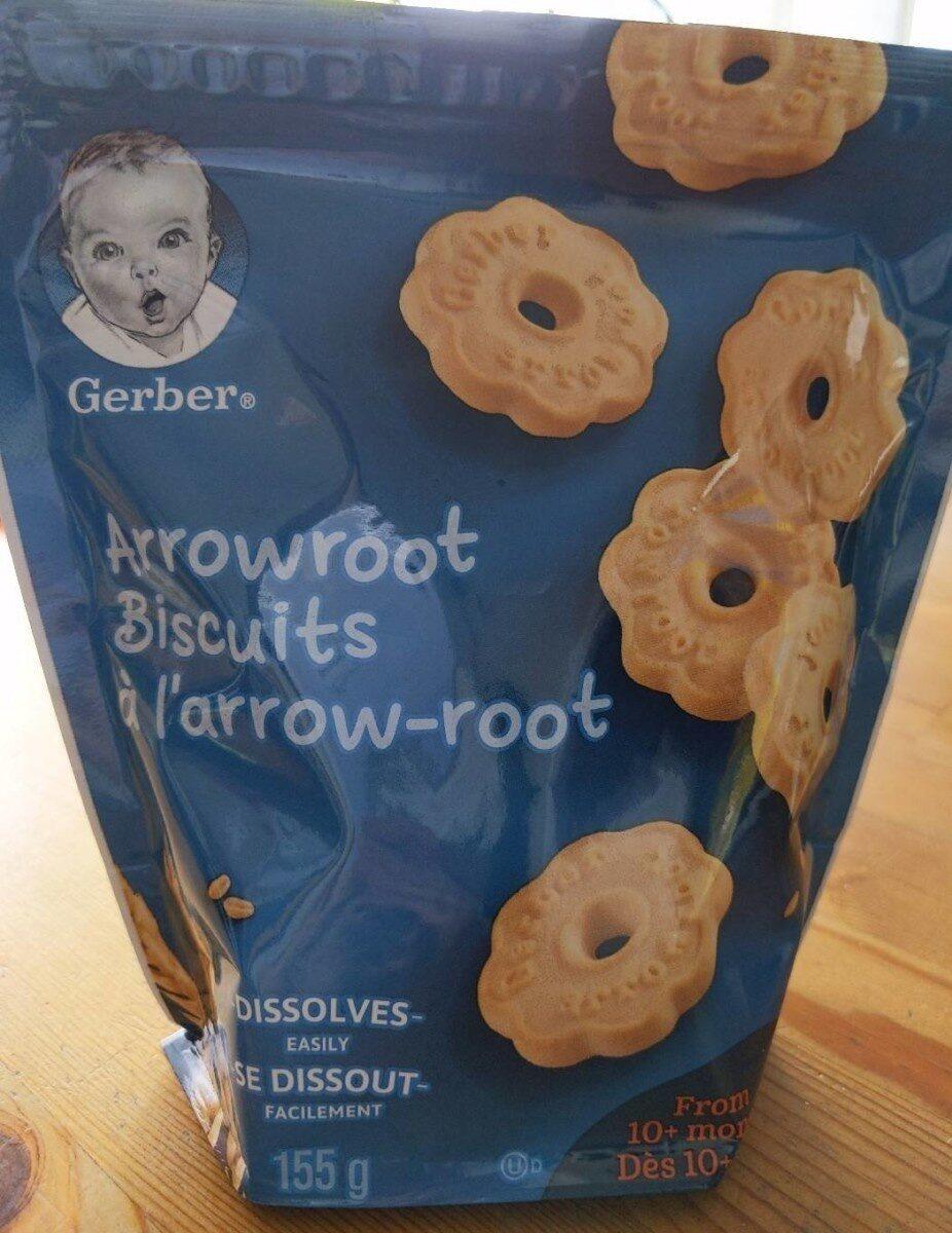 Arrowroot biscuits - Produit - fr