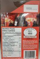 Cafe cremeux - Informations nutritionnelles - en