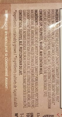 Soupe de légume - Ingredients