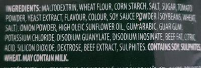 Demi-Glace mélange à sauce de rôti - Ingredients