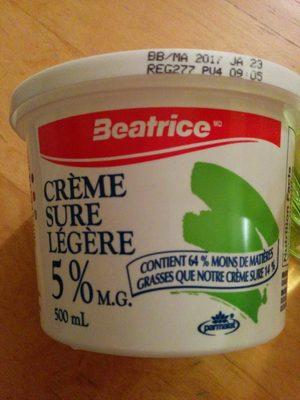 Crème sure légère - Produit - fr