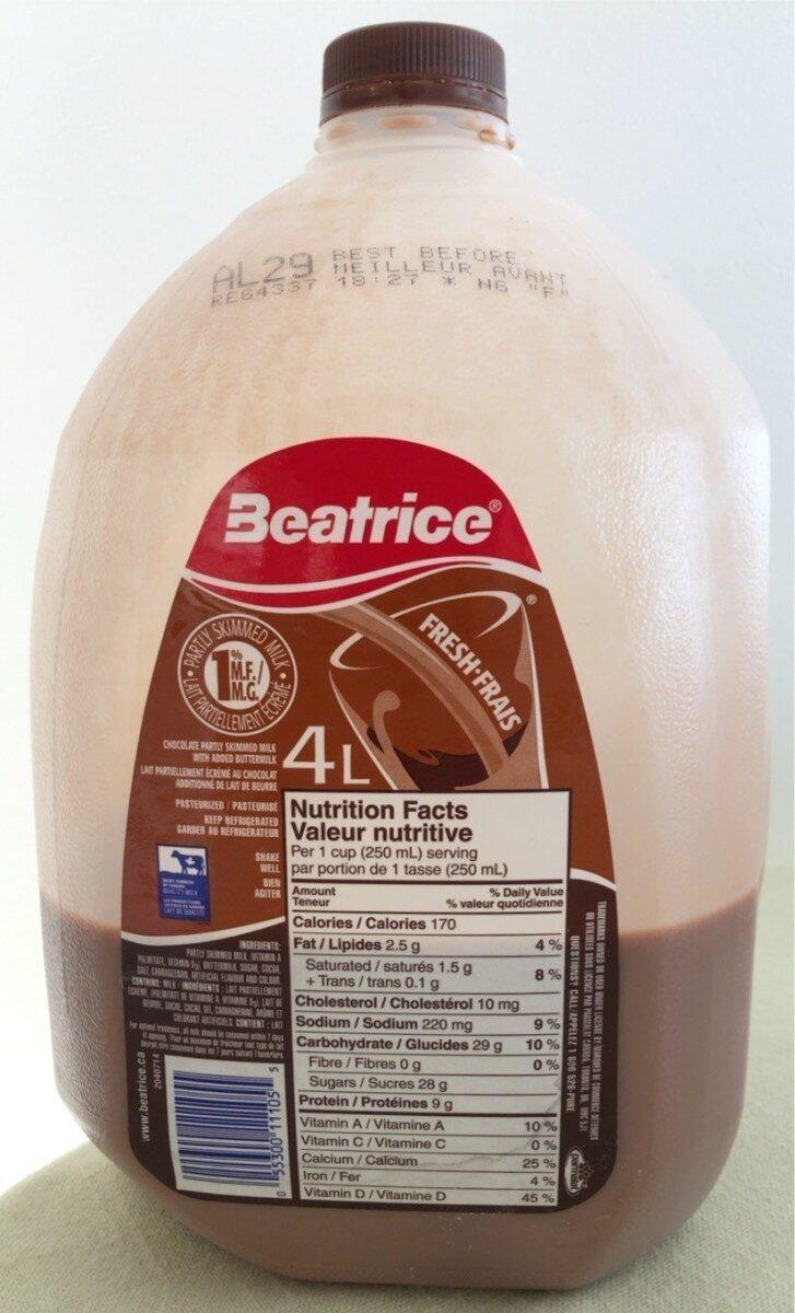 Lair partiellement ecreme au chocolat - Product - en