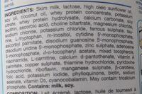 Similac - Ingredients - en