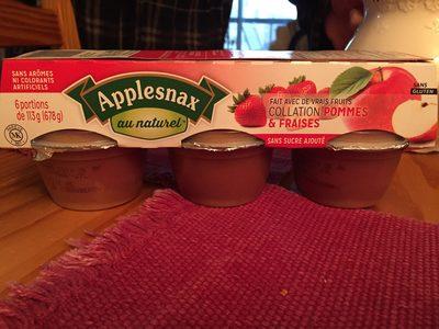 Applesnax au naturel - Product