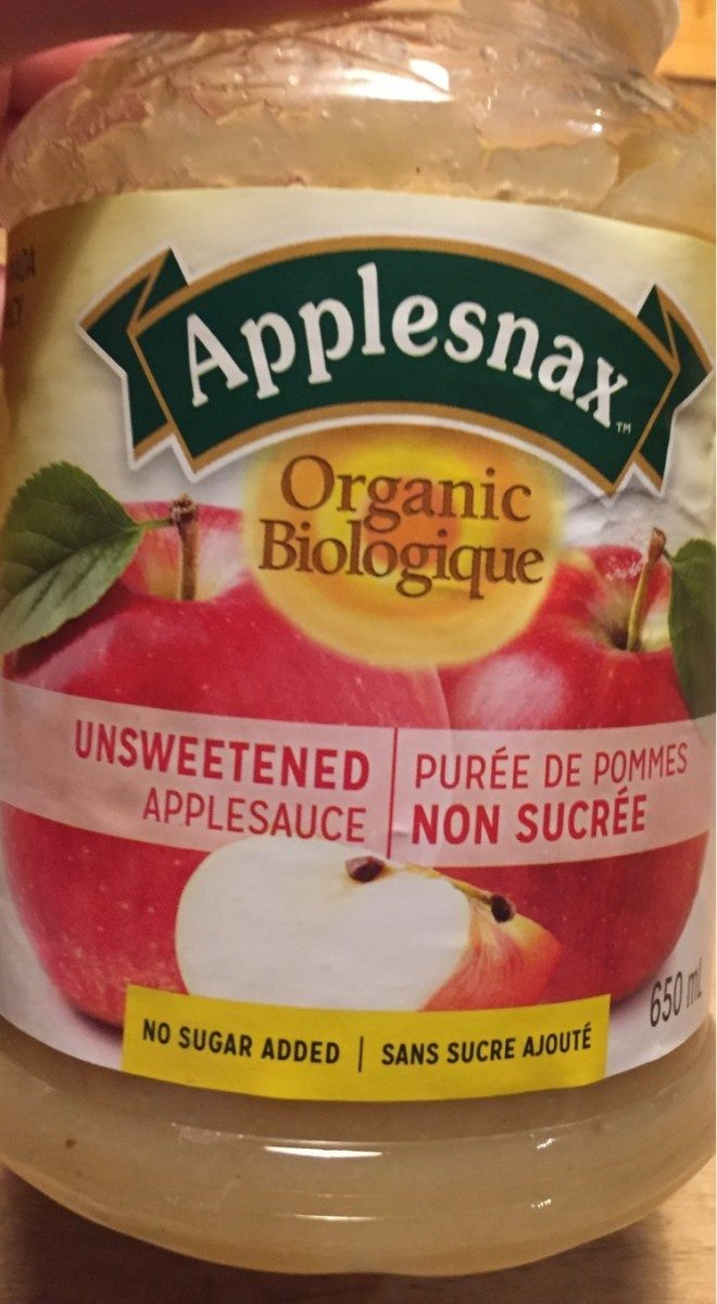Puree de pommes non sucree - Product