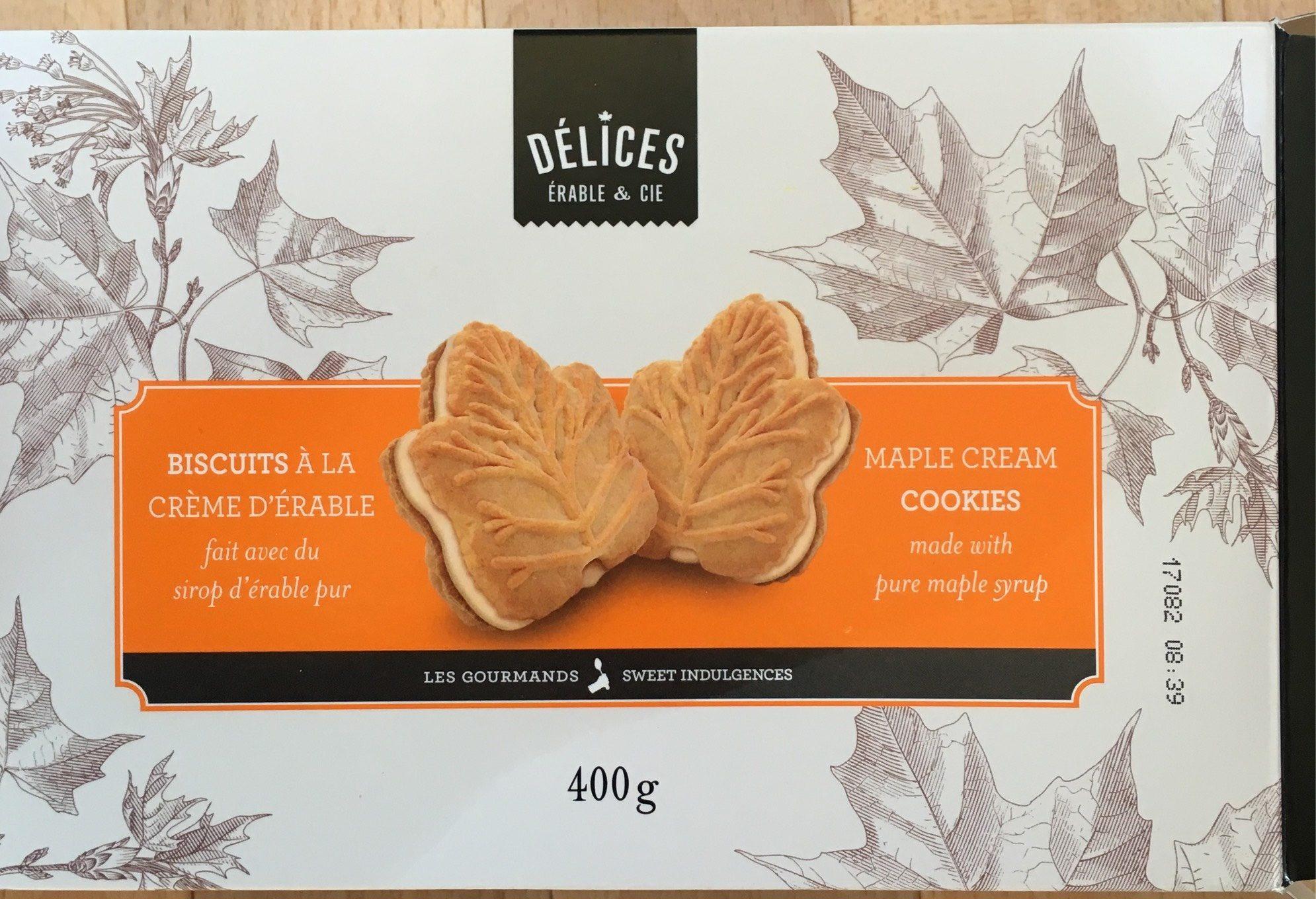 Biscuit à la crème d'érable - Produit - fr