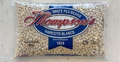 White pea beans - Produit - fr