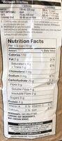 Gruau Quacker - Nutrition facts - fr